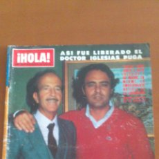 Coleccionismo de Revista Hola: HOLA Nº 1953 *30/01/1982*LIBERACION IGLESIAS PUGA*GRAN RE. KATHERINE HEPBURN*PRISCILLA PRESLEY. Lote 43214814