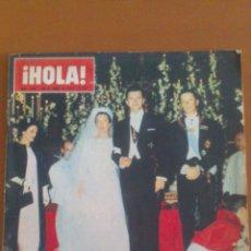 Coleccionismo de Revista Hola: HOLA Nº 1066 *30/01/1965*MUERTE: WINSTON CHURCHIL Y TORERO JUAN DE PALMA* EL CORDOBES*. Lote 43214872