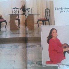 Coleccionismo de Revista Hola: RECORTES ISABEL PREYSLER. Lote 43226805