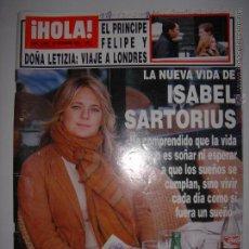 Coleccionismo de Revista Hola: . HOLA NUM. 3099 25 DICIEMBRE 2003 EL PRINCIPE FELIPE Y DOÑA LETIZIA : VIAJE A LONDRES 24 X 33 CM. Lote 43293437