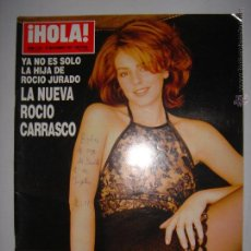 Coleccionismo de Revista Hola: HOLA Nº. 2781 27 DE NOVIEMBRE 1997 LA NUEVA ROCIO CARRASCO 24 X 33 CM . Lote 43293874