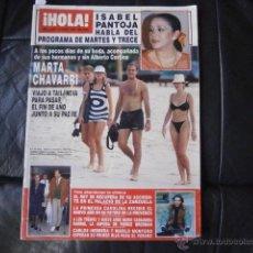 Coleccionismo de Revista Hola: HOLA,MARINA PICASSO-PIERCE BROSNAN-MARTA CHAVARRI-PRINCESA CAROLINA-ISABEL PANTOJA-TORI SPELLING. Lote 43341807