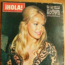 Coleccionismo de Revista Hola: HOLA Nº1528-8/12/73-RAINIRO Y GRACIA-CAROLINA DE MONACO-LOS PRINCIPES DE ESPAÑA-PRINCIPE CARLOS. Lote 43394855