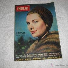 Coleccionismo de Revista Hola: HOLA 1962 EN PORTADA GRACIA DE MONACO. Lote 43465308