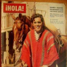 Coleccionismo de Revista Hola: ¡HOLA! Nº1045-5/9/64-REINA VICTORIA-LOS KENNEDY-CARMEN SEVILLA. Lote 43659653
