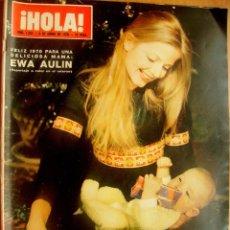 Coleccionismo de Revista Hola: ¡HOLA! Nº1323-3/1/70-LOS GRIMALDI-EL SHA Y FARAH DIBA-SOFIA LOREN. Lote 43696729