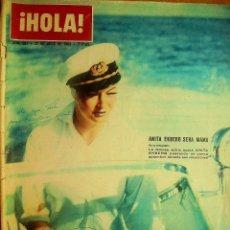 Coleccionismo de Revista Hola: ¡HOLA! Nº987-27/7/63-SS. EE. EL JEFE DEL ESTADO Y SEÑORA-. Lote 43745071