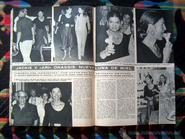 Coleccionismo de Revista Hola: Revista HOLA / CLAUDIA CARDINALE, JACQUELINE KENNEDY, PETER SELLERS, PRINCESA SORAYA - Foto 3 - 43747147