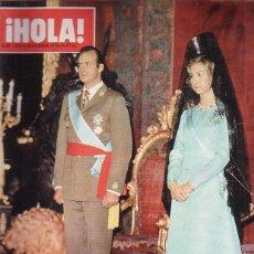 Coleccionismo de Revista Hola: HOLA Nº 1632 - DICIEMBRE 1975 - HOMENAJE A LOS REYES DE ESPAÑA. Lote 44222140