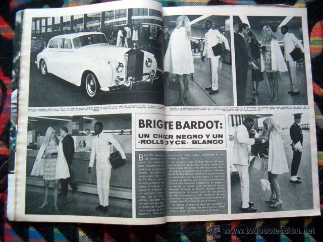Coleccionismo de Revista Hola: Revista Hola / MARISOL, BRIGITTE BARDOT, JANE FONDA, GINA LOLLOBRIGIDA, JEAN SHRIMPTON, LIZ TAYLOR - Foto 2 - 44228060
