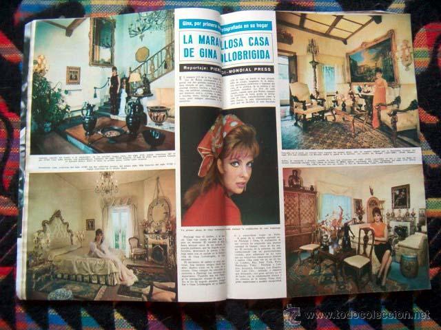 Coleccionismo de Revista Hola: Revista Hola / MARISOL, BRIGITTE BARDOT, JANE FONDA, GINA LOLLOBRIGIDA, JEAN SHRIMPTON, LIZ TAYLOR - Foto 4 - 44228060