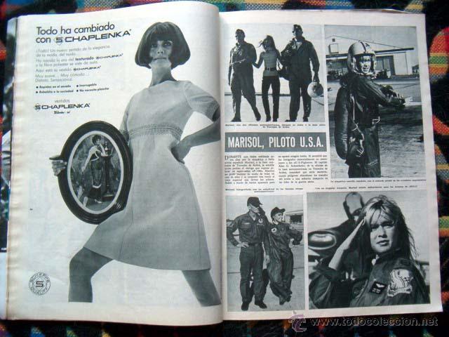 Coleccionismo de Revista Hola: Revista Hola / MARISOL, BRIGITTE BARDOT, JANE FONDA, GINA LOLLOBRIGIDA, JEAN SHRIMPTON, LIZ TAYLOR - Foto 5 - 44228060