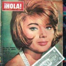 Coleccionismo de Revista Hola: REVISTA HOLA / SYLVA KOSCINA, BRITT EKLAND, MICHELE MERCIER, MARISOL, JACQUELINE KENNEDY, DIBA. Lote 44326586