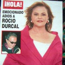 Coleccionismo de Revista Hola: REVISTA HOLA / ROCIO DURCAL, SHARON STONE, CAROLINA DE MONACO, SILVIA JATO, CARLOTA CASIRAGHI. Lote 44326616