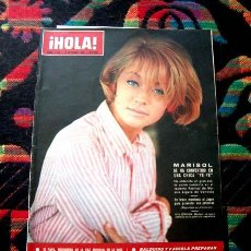 Coleccionismo de Revista Hola: REVISTA HOLA / MARISOL, STEVE MAC QUEEN, PIER ANGELI, JACQUELINE KENNEDY. Lote 44354123