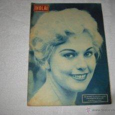 Coleccionismo de Revista Hola: HOLA 1957 KIM NOVAK EN PORTADA Y REPORTAJE EN EL INTERIOR. Lote 44360080