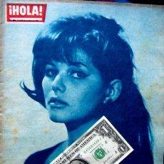 Coleccionismo de Revista Hola: REVISTA HOLA / CLAUDIA CARDINALE, GINA LOLLOBRIGIDA, REYES DE ESPAÑA, GRACE KELLY, SOPHIA LOREN. Lote 44386404