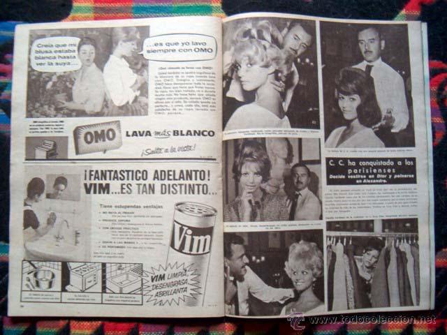 Coleccionismo de Revista Hola: Revista Hola / CLAUDIA CARDINALE, GINA LOLLOBRIGIDA, REYES DE ESPAÑA, GRACE KELLY, SOPHIA LOREN - Foto 2 - 44386404