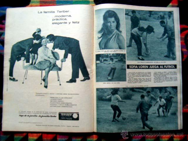 Coleccionismo de Revista Hola: Revista Hola / CLAUDIA CARDINALE, GINA LOLLOBRIGIDA, REYES DE ESPAÑA, GRACE KELLY, SOPHIA LOREN - Foto 4 - 44386404