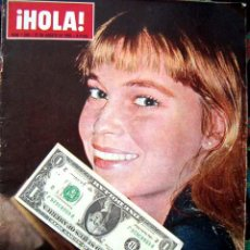 Coleccionismo de Revista Hola: REVISTA HOLA / BRITT EKLAND, THE BEATLES, MIA FARROW, MISS BELLEZA INTERNACIONAL, MARIA CALLAS. Lote 44386450
