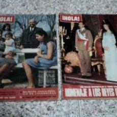Coleccionismo de Revista Hola: ¡HOLA! - LOTE DE 2 REVISTAS ANTIGUAS.. Lote 44387361