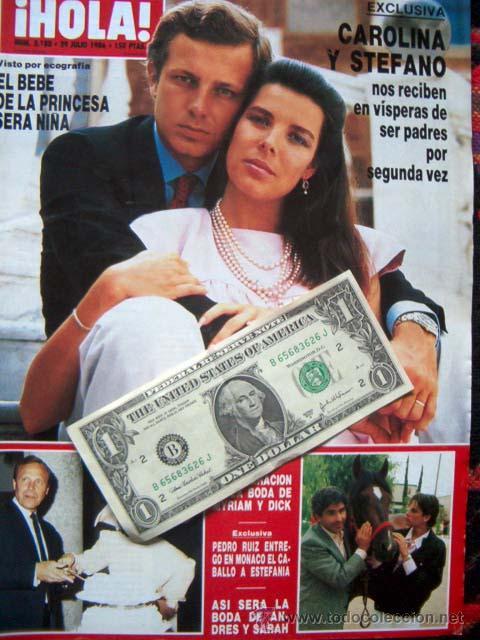 Revista Hola Carolina De Monaco Ursula Andre Comprar