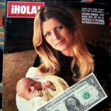 Coleccionismo de Revista Hola: REVISTA HOLA / MISS MUNDO, WORLD, JULIO IGLESIAS, FARAH DIBA. Lote 44406912