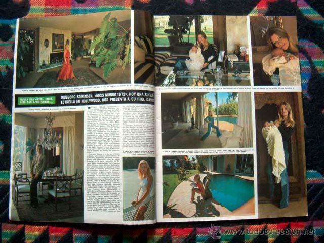 Coleccionismo de Revista Hola: Revista Hola / MISS MUNDO, WORLD, JULIO IGLESIAS, FARAH DIBA - Foto 2 - 44406912