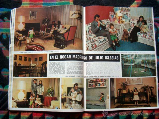 Coleccionismo de Revista Hola: Revista Hola / MISS MUNDO, WORLD, JULIO IGLESIAS, FARAH DIBA - Foto 3 - 44406912