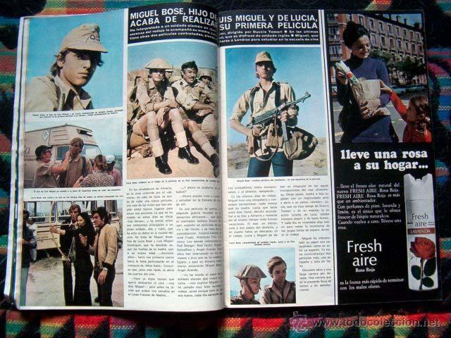 Coleccionismo de Revista Hola: Revista Hola / MISS ESPAÑA, SOPHIA LOREN, BURT REYNOLDS, MIGUEL BOSE, BRIGITTE BARDOT, MARK LESTER - Foto 2 - 44420394