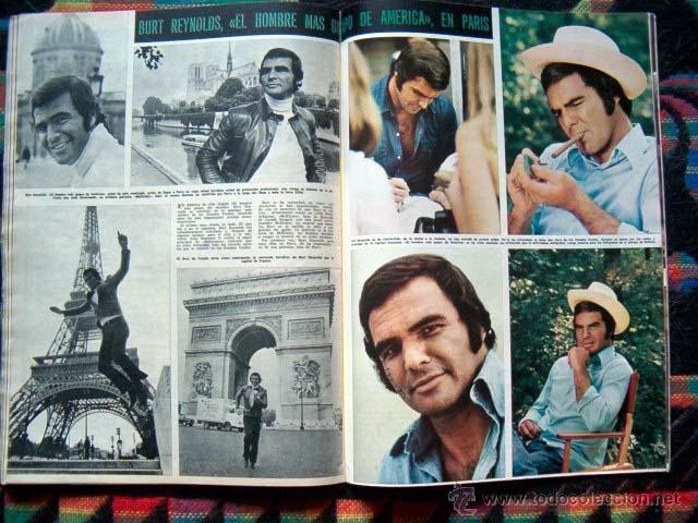 Coleccionismo de Revista Hola: Revista Hola / MISS ESPAÑA, SOPHIA LOREN, BURT REYNOLDS, MIGUEL BOSE, BRIGITTE BARDOT, MARK LESTER - Foto 4 - 44420394