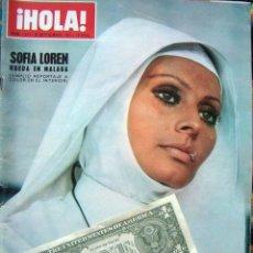 Coleccionismo de Revista Hola: REVISTA HOLA / MISS EUROPA, SOPHIA LOREN, URSULA ANDRESS, CATHERINE SPAAK,. Lote 44420583