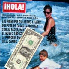 Coleccionismo de Revista Hola: HOLA/ DIANA DE GALES, CORBIN BERNSEN, MONTSERRAT CABALLE, MIGUEL BOSE, JULIO IGLESIAS, LOLITA FLORES. Lote 44438216