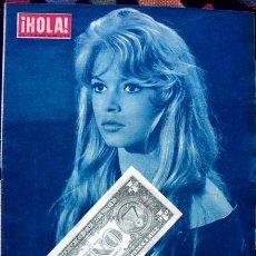 Coleccionismo de Revista Hola: REVISTA HOLA 1958 / BRIGITTE BARDOT. Lote 44442024