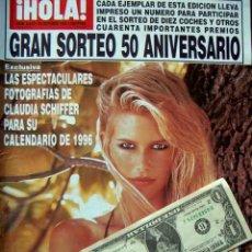 Coleccionismo de Revista Hola: CLAUDIA SCHIFFER, CINDY CRAWFORD, PAMELA ANDERSON, BANDERAS, LUKE PERRY, JANICE DICKINSON. Lote 44619108