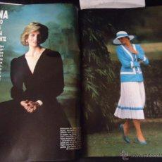 Coleccionismo de Revista Hola: REPORTAJE REVISTA FOTOGRAFICO REVISTA 8 FOTOGRAFIAS DE DIANA DE GALES LADY DI. . Lote 44821815