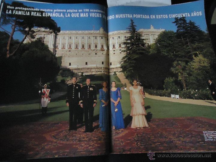REPORTAJE CASA REAL REY REINA PRINCIPE INFANTAS, ETC (Coleccionismo - Revistas y Periódicos Modernos (a partir de 1.940) - Revista Hola)