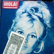 Coleccionismo de Revista Hola: REVISTA HOLA / BRIGITTE BARDOT, FARAH DIBA, MIJANOU BARDOT. Lote 44870961