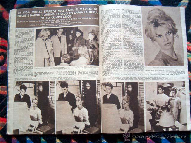 Coleccionismo de Revista Hola: Revista HOLA / BRIGITTE BARDOT, FARAH DIBA, MIJANOU BARDOT - Foto 2 - 44870961