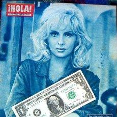 Coleccionismo de Revista Hola: REVISTA HOLA / GINA LOLLOBRIGIDA, RENATO SALVATORI, ANNIE GIRARDOT, AVA GARDNER, BRIGITTE BARDOT. Lote 44871028