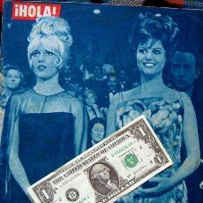 Coleccionismo de Revista Hola: REVISTA HOLA / BRIGITTE BARDOT, CLAUDIA CARDINALE, GINA LOLLOBRIGIDA. Lote 44923846