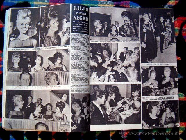 Coleccionismo de Revista Hola: Revista HOLA / BRIGITTE BARDOT, CLAUDIA CARDINALE, GINA LOLLOBRIGIDA - Foto 2 - 44923846