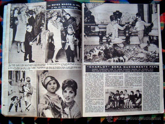 Coleccionismo de Revista Hola: Revista HOLA / BRIGITTE BARDOT, CLAUDIA CARDINALE, GINA LOLLOBRIGIDA - Foto 3 - 44923846