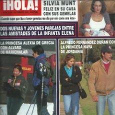 Coleccionismo de Revista Hola: HOLA Nº 2636 CON -ENTIERRO DE TINA DE LAS GRECAS - LA INFANTA ELENA - CARMEN MORALES AÑO 1995. Lote 45106479