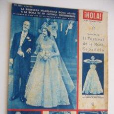 Coleccionismo de Revista Hola: REVISTA HOLA. Nº 439. 24 ENERO 1953. LA PRINCESA MARGARITA ASISTE A LA BODA DE SU ÚLTIMO PRETENTE.. Lote 45278456