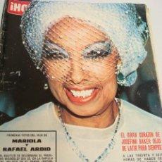 Coleccionismo de Revista Hola: URSULA ANDRESS- ANA DE INGLATERRA- JACKIE KENNEDY. Lote 45489473