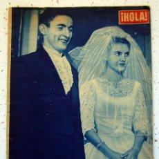 Coleccionismo de Revista Hola: REVISTA -HOLA- BODA EN MARBELLA . NUMERO 744. NOVIEMBRE 1958. Lote 45556710