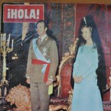 Coleccionismo de Revista Hola: REVISTA HOLA HOMENAJE A LOS REYES DE ESPAÑA (DICIEMBRE DE 1975) . Lote 45598416