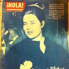 Coleccionismo de Revista Hola: REVISTA HOLA, Nº 867, ABRIL 1961, ISABEL DE FRANCIA, LIZ TAYLOR, DON JAIME DE MORA Y ARAGÓN. Lote 45737694
