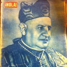 Coleccionismo de Revista Hola: REVISTA HOLA Nº740, NOVIEMBRE 1958, ELECCIÓN DEL PAPA JUAN XXIII. Lote 45737826